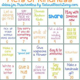 Best Preschool Lesson Plans About Kindness 25 Best Random Acts Of Kindness Ideas For Preschooler