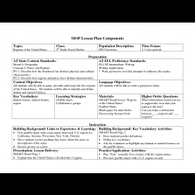 Best Siop Model Template For Lesson Plan 12 Best Images Of Components Of A Lesson Plan - Siop Lesson Pla