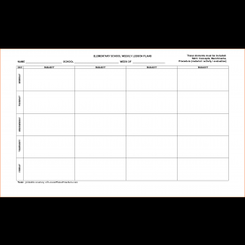 Best Weekly Lesson Plan Template Download 7+ Weekly Lesson Plan Template - Bookletemplate