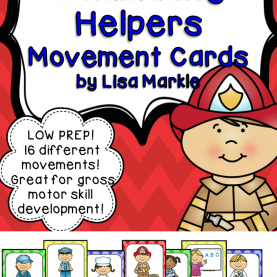 Best Who Are Community Helpers Community Helpers Movement Cards For Preschool And Brain Brea