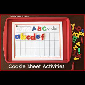Briliant Activities For Pre K Students Cookie Sheet Activities Pre K- K Bundle- Early Literacy An