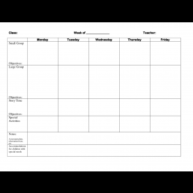 Briliant Blank Lesson Plan Template For Toddlers Best Photos Of Blank Lesson Plan Template For Toddlers - Fre