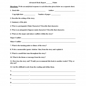 Briliant Book Review Lesson Plan 2Nd Grade Book Report Outline 2Nd Grade , 5 Technology Tools To Help You