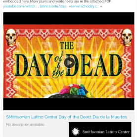 Briliant Film Lesson Plans Free Day Of The Dead Resources: Film, Lesson Plans And Worksheet
