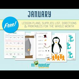 Briliant Free January Lesson Plans For Toddlers Free Month Long Of Activities For Every Day Of January! | Courtes