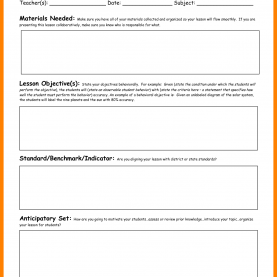 Briliant How To Make A Review Lesson Plan 4+ Celta Lesson Plan Template | Example Of