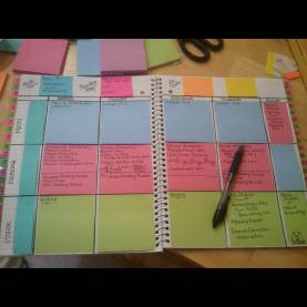 Briliant Lesson Plan Book For Teachers Mrs. Burke Uses This Idea, And It'S A Good One At That! So Simpl