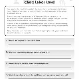 Briliant Lesson Plans For Child Labor During The Industrial Revolution Learn About Child Labor Laws In The U.S. In This Free Activit