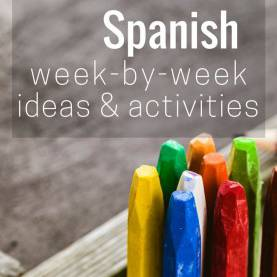 Briliant Lesson Plans For Preschool Spanish Ideas And Activities For Teaching Preschool Spanish, Week-By-Wee