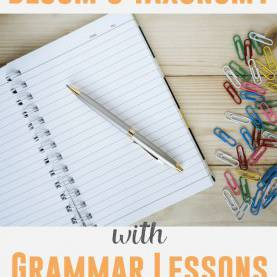 Briliant Lesson Plans For Teaching English Grammar Teaching Grammar Via Bloom'S Taxonomy | Grammar Lessons, Teachin