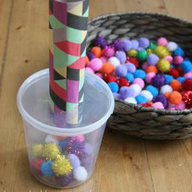 Briliant Lesson Plans For Toddlers Fine Motor Skills Pom Pom Drop And Shoot: Toddler Play | Motor Skills Activitie