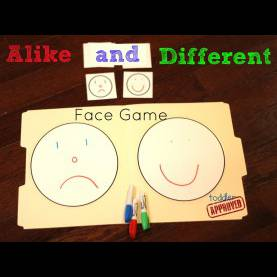 Briliant Same And Different Lesson Plans For Preschool Toddler Approved!: Teaching Alike And Different With Chester'S Wa