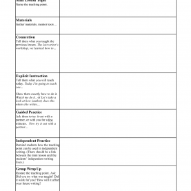 Complex Blank Mini Lesson Plan Template 29 Images Of Mini Lesson Plan Template   Infovia
