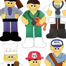 Complex Community Helpers Cut And Paste Community Helpers Cut And Paste Set | Community Helpers, Classroo