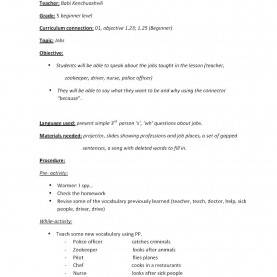 Complex Detailed Lesson Plan In English 5 Lesson Plan For Cla