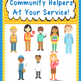 Complex Different Community Helpers Mrs. K'S Teachable Moments: Community Help