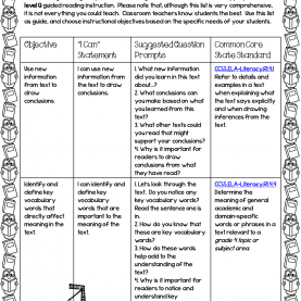 Complex Guided Reading Grade 4 Free Guided Reading Grade 4 Lessons | Reading Strategie