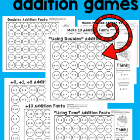Complex How To Explain Addition To Kindergarten 9 Free Addition Games | Addition Strategies, Addition Activitie