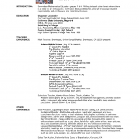 Complex How To Write A Lesson Plan University Resume Cover Letter Lesson Plan Math Teacher Resume Sunday Schoo