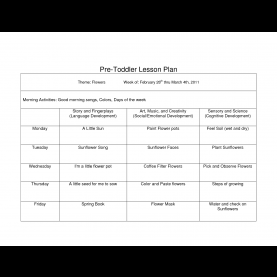 Complex Infant Lesson Plans Fall Toddler Lesson Plans Free - Commonpenc