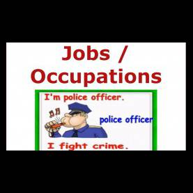 Complex Lesson Plan For Teaching Occupations Jobs And Occupations Vocabulary-English For Children, Esl Kid