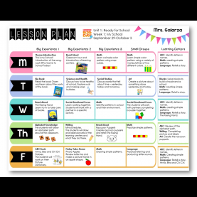 Complex Lesson Plan Objectives And Goals Examples New Post: 8/21/2014 Teacher Week: When Thursday do You Like M