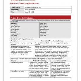 Complex Lessons Learned Template Download New Prince2 Lessons Learned Report Template Prince2 Lesson