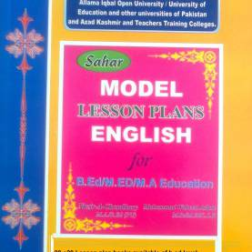 Complex Model Lesson Plan For English Aiou B.Ed/m.Ed/m.A Education Model Lesson Plans Keybook Avail