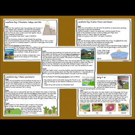 Excellent 3Rd Grade Science Lesson Plans On Landforms Foldables For Science   If You Need To Spice Up Your Landform Uni