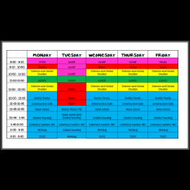 Excellent 5Th Grade Lessons Schedule2 - Teaching To Inspire With Jennifer Fin