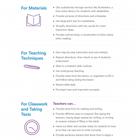 Excellent Dyslexia Lesson Plans Accommodations For Students With Dyslexia | Help In The Class