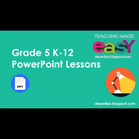 Excellent K To 12 Lesson Plan In Science Grade 8 Grade 5 K-12 Powerpoint Lessons - Deped