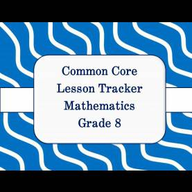 Excellent Lesson Plan 8Th Grade Math Common Core Math And Ela Lesson Plan Organizers For The Middl