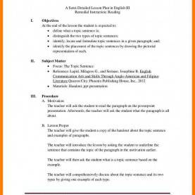 Excellent Lesson Plan In Filipino 5+ Example Of Detailed Lesson Plan | Nanny Res