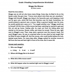 Excellent Reading Lessons For 3Rd Grade Reading Worksheets | Third Grade Reading Worksh