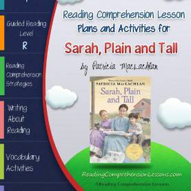 Excellent Sarah Plain And Tall Lesson Plans Sarah, Plain And Tall Lesson Plan And Group Resources (Book Clu
