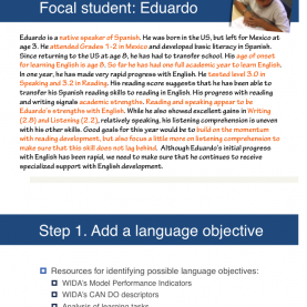 Excellent Siop Lesson Plan Examples Social Studies The Basics Of Preparing A Lesson For English Language Learner