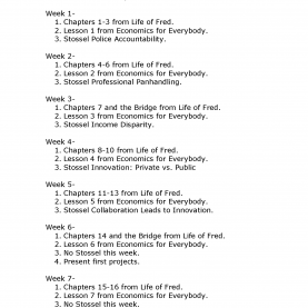 Excellent Teaching High School Economics Lesson Plans Weekly-Outline-Of-Class-Time_Page_1.Png (1700×2200) | High Schoo
