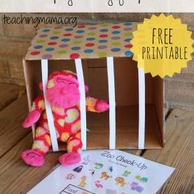 Excellent Zoo Themed Lesson Plans For Toddlers Zoo Animals - Dramatic Play Activity - Teaching