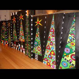 Fresh Christmas Art Lesson Plans Christmas Trees. That Would Be A Beautiful School Art Project Ide