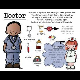 Fresh Community Helpers Doctor Information Cool Pictures Of Community Helpers 30 #