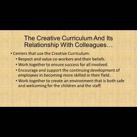 Fresh Creative Curriculum Training Powerpoint The Creative Curriculum: Is It Right For Your Child? - Ppt Down