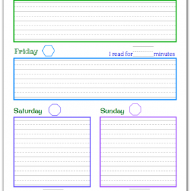 Fresh Daily Activity Plan For Toddlers Planner Printables For