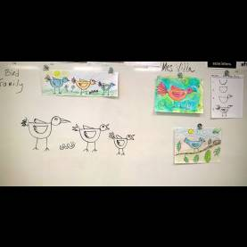 Fresh Drawing Lesson Plans For Primary School Angie Villa Art & Education: Easy Bird Family Lesson For Primar