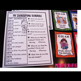 Fresh First Grade Lesson Plans Telling Time Miss Giraffe'S Class: Telling Time In First G