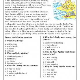 Fresh Free Reading Activities For Elementary Students Reading Comprehension For Beginner And Elementary Students 3 | Es