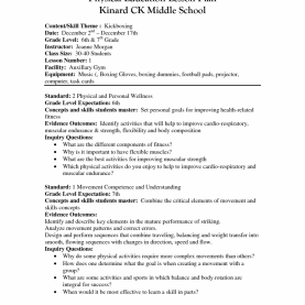 Fresh Lesson Plan Physical Education Worksheets For All | Download And Share Worksheets | Free O