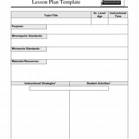 Fresh Lesson Plan Template Qld Awesome Basic Lesson Plan Template   Winzipdownload