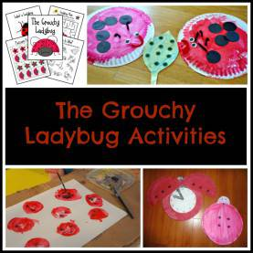 Fresh Pre-K Lesson Plans For The Grouchy Ladybug The Ultimate List Of Eric Carle Activi
