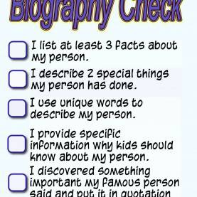 Good 2Nd Grade Biography Lesson Plans Introducing 2Nd Grade Students To Research Using Biographie